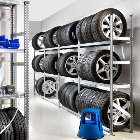 Rayonnages à pneus